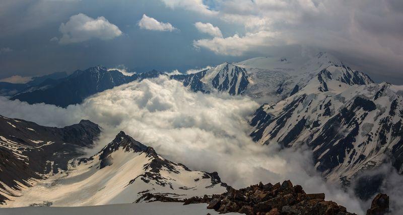 горы, альпинизм, кавказ суровое дыхание гор...photo preview
