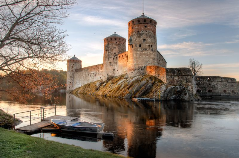 Замок Олавинлинна. Финляндияphoto preview