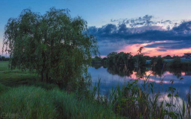 Майский вечер у реки…photo preview