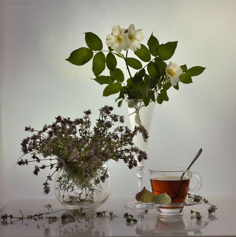 Чай с чабрецомphoto preview