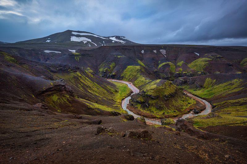 исландия, iceland, кедлингарфьёдль, kerlingarfjöll Исландская подкова.photo preview
