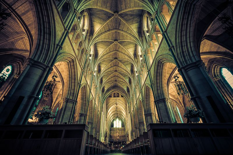Southwark, Cathedral, London, architecture, old, interior Southwark Cathedral, Londonphoto preview