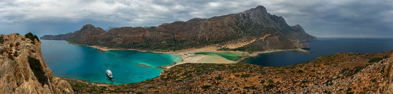 природа, пейзаж, море, горы, берег, побережье, греция, панорама, осень Бухтыphoto preview