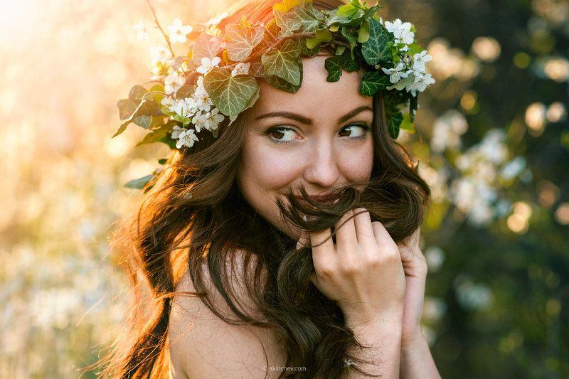 портрет, девочка, весна Веснаphoto preview