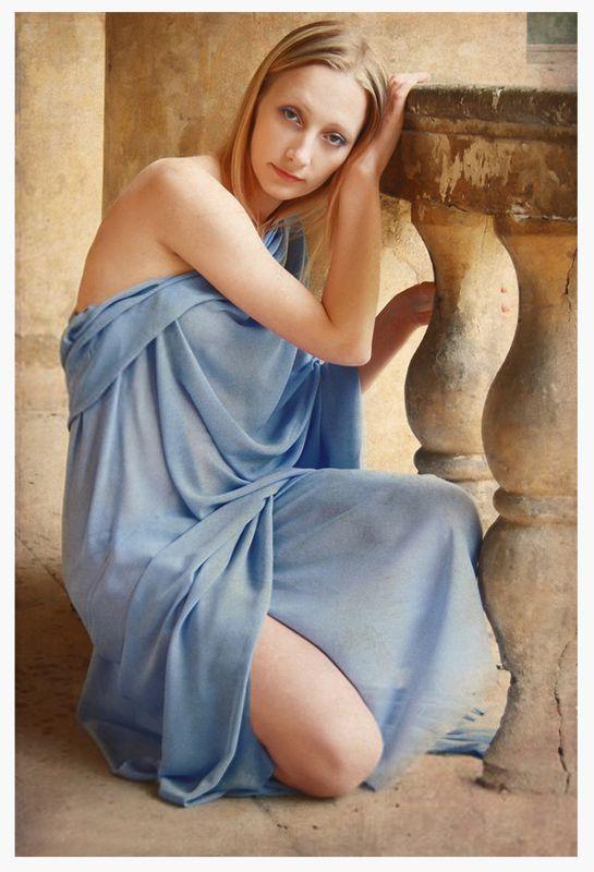 девушка, лето, портрет, усадьба ****photo preview