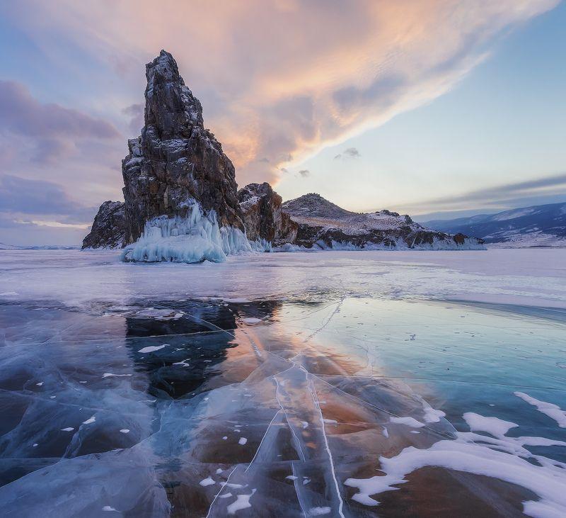 ...Закат у острова Ольтрек...photo preview
