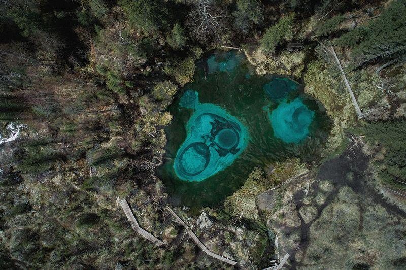 путешествия, гейзеровое, алтай, озеро, туризм, исследование, пейзаж, горы, река, хайкинг, марс, сибирь, topview Гейзеровое озероphoto preview