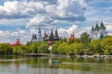 Вид на Измайловский Кремль.