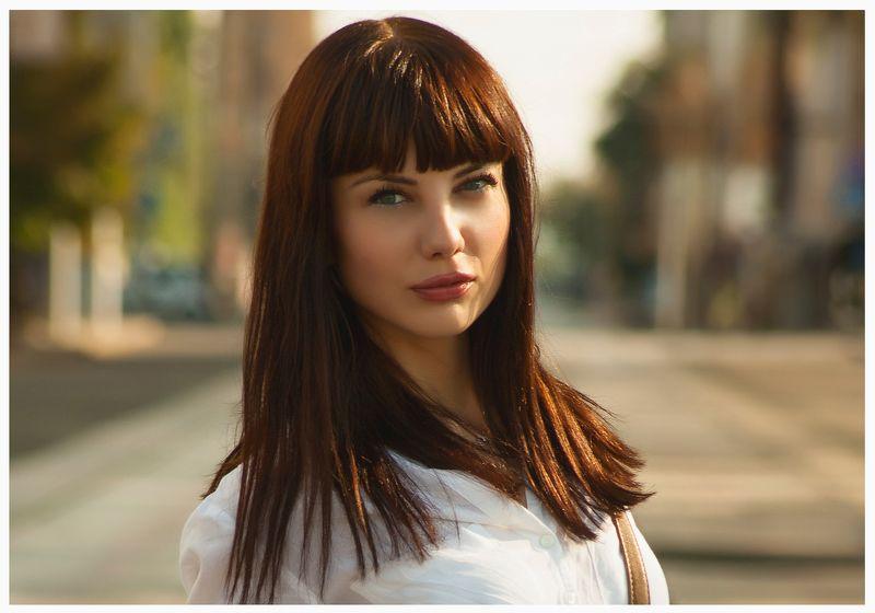 девушка, лето, портрет ****photo preview