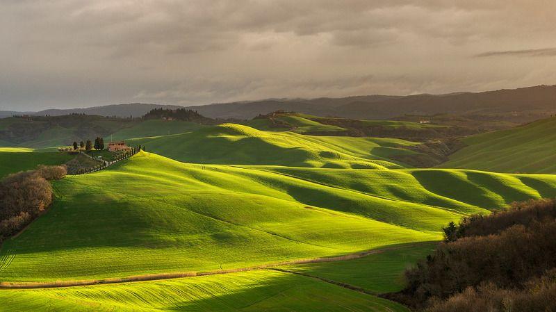 тоскана, италия, italy, tuscany, valdorcia, зеленые холмы тосканы, путешествие тоскана, весенняя тоскана, green hills Весенняя Тосканаphoto preview