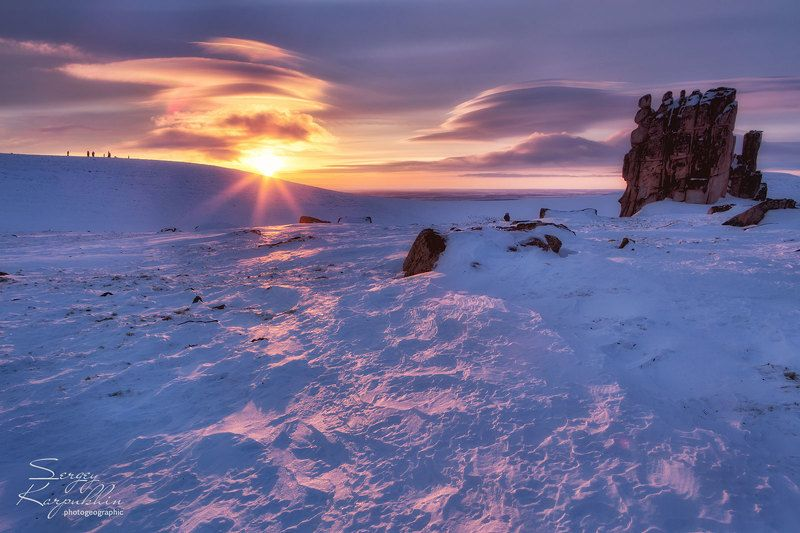 якутия, улахан-сис, зима Pristine Landphoto preview