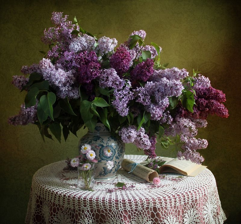 натюрморт, цветы, марина филатова, сирень Сиреньphoto preview