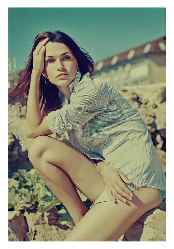 девушка, лето, портрет *****photo preview