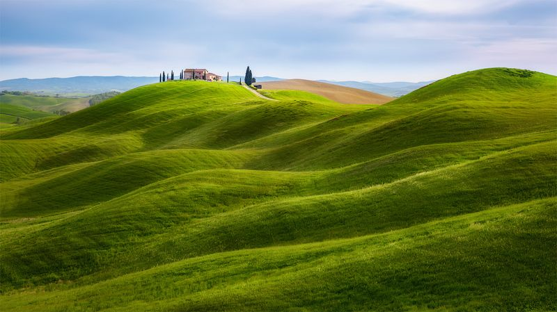 тоскана, италия, tuscany, italy, toscana Зеленые просторы Тосканы.photo preview