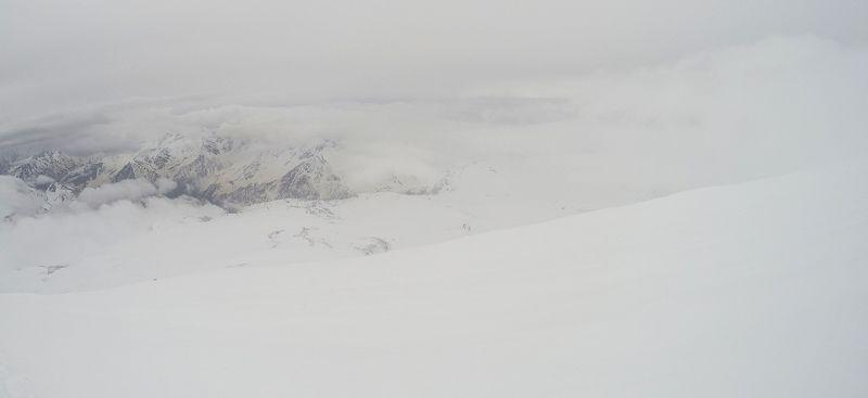 горы, кавказ, красиво, зима photo preview