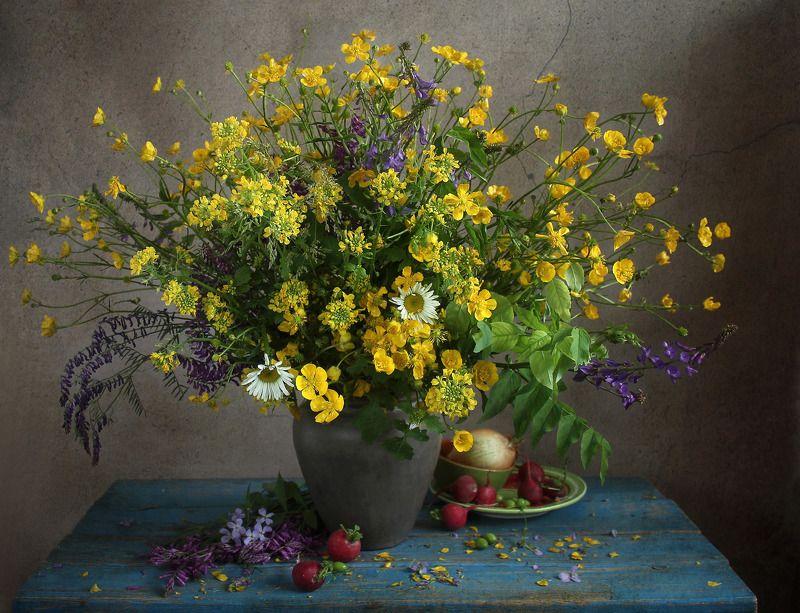 натюрморт, цветы, марина филатова Село моё на краешке земли.photo preview