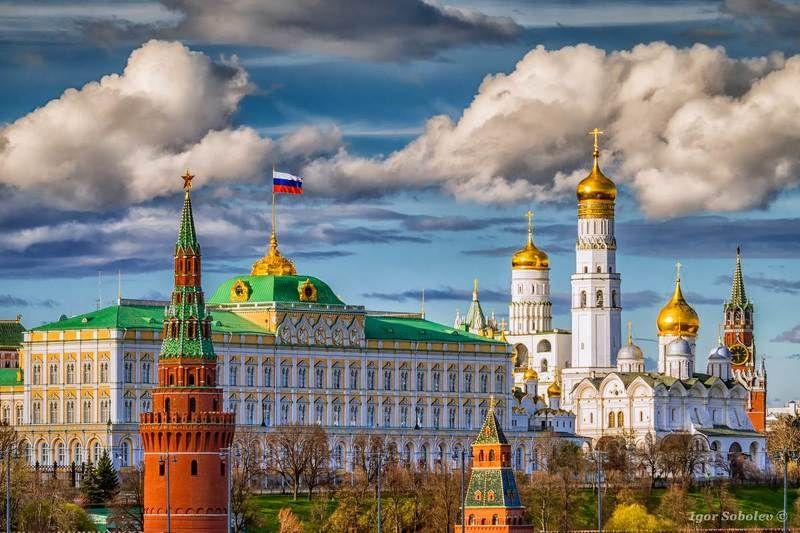 clouds, kremlin, moscow, кремль, москва, облака С Днём России!photo preview