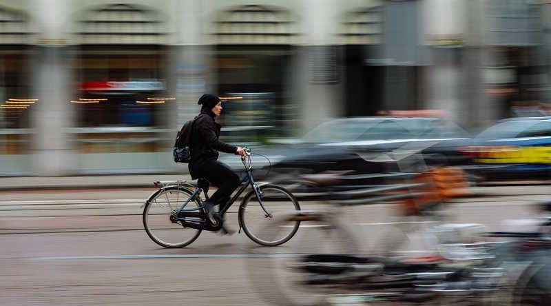 амстердам, amsterdam, netherlands, голландия, велосипед, движение, скорость Амстердамphoto preview