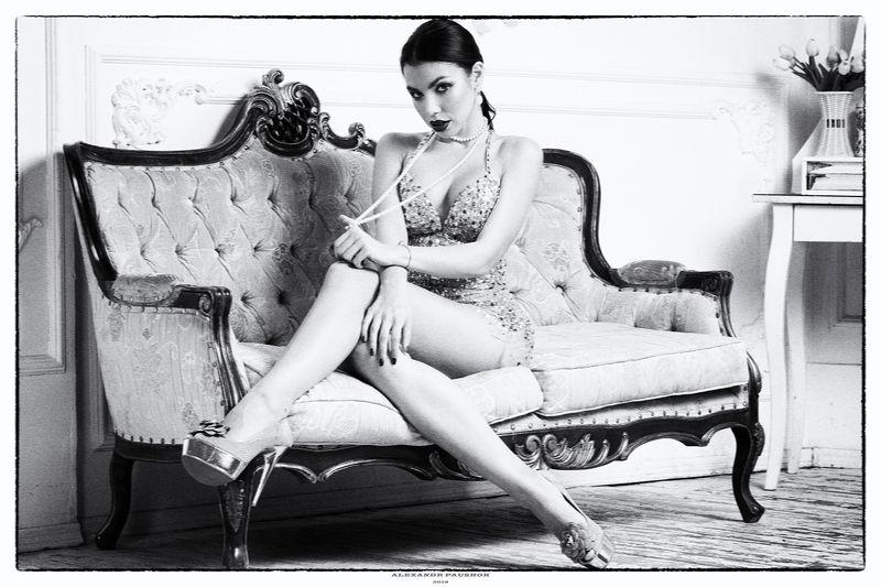 portrait, girl, beauty, blackandwhite, sensual Katyaphoto preview