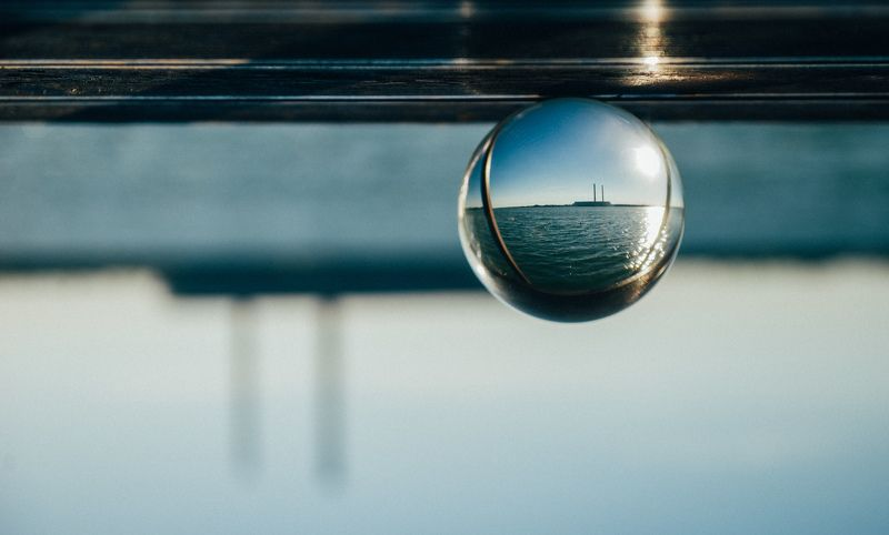 ball, water, travel, color, sky, glass, landscape, nature, beauty, light Earthphoto preview
