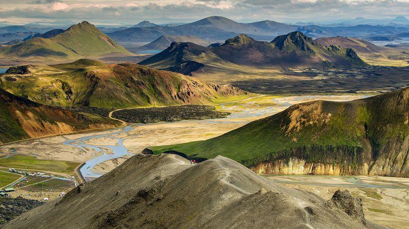 исландия, пейзаж, iceland, landmannalaugar, пейзажи исландии, горы исландии, цветные горы исландии, ландманналаугар, земля вулканов Icelandic mountainsphoto preview