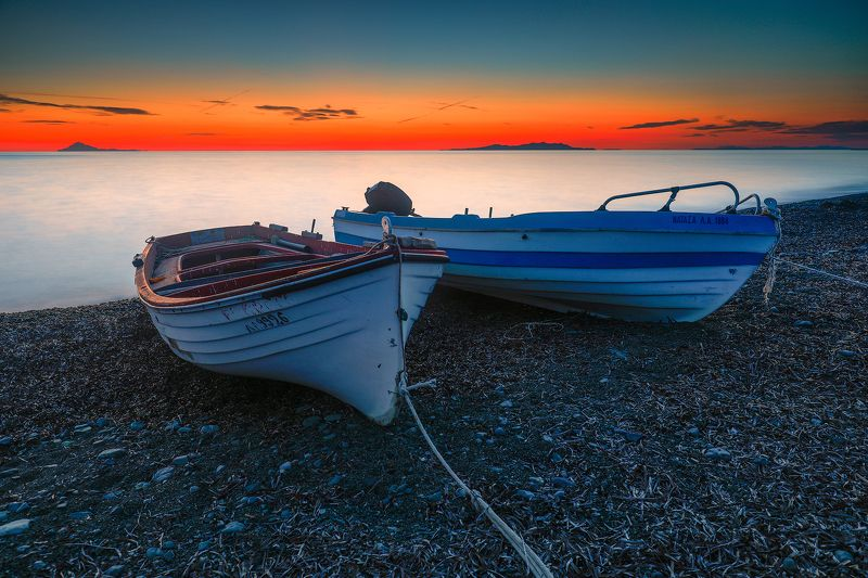 Two boats on the beachphoto preview