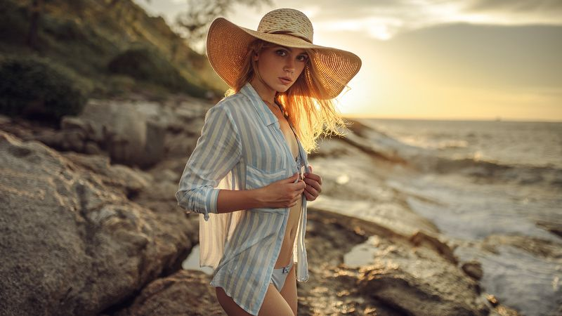 sexy, портрет, закат Kseniyaphoto preview