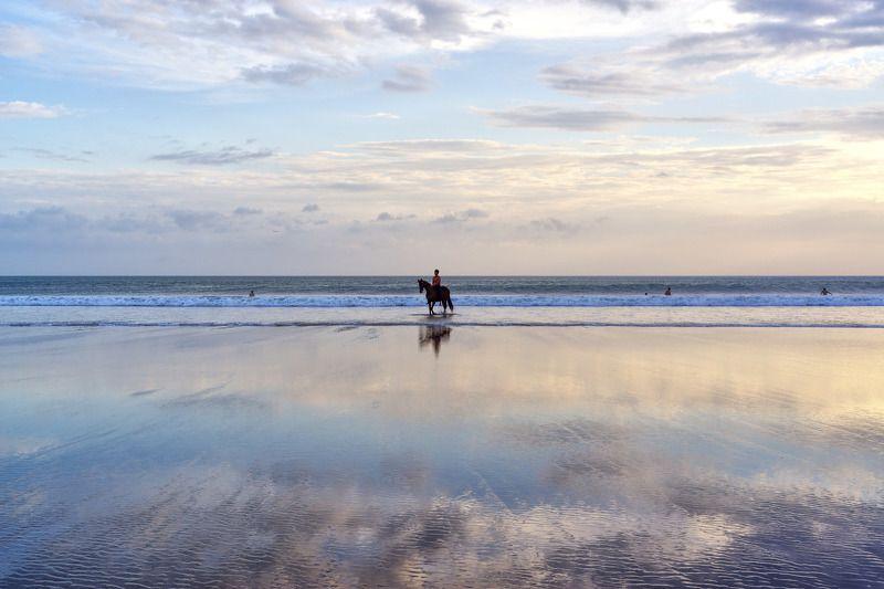вода, море, небо, горизонт гулять по водеphoto preview