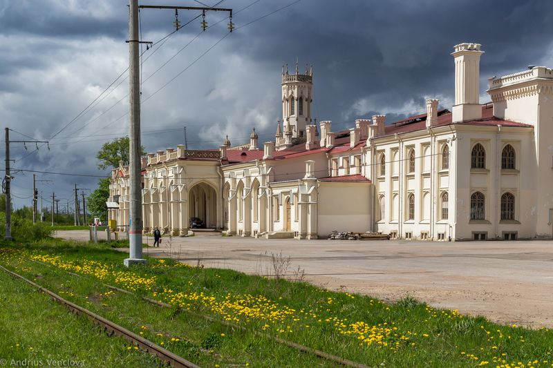 New Peterhof Railway Stationphoto preview
