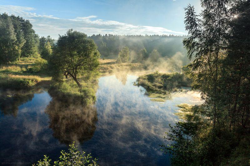 Рассвет на реке Нерскаяphoto preview