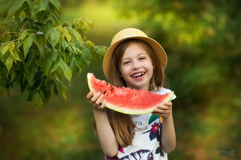детский фотограф, children photographer, kids photographer, арбуз, watermelon Watermelon mood / Арбузное настроениеphoto preview