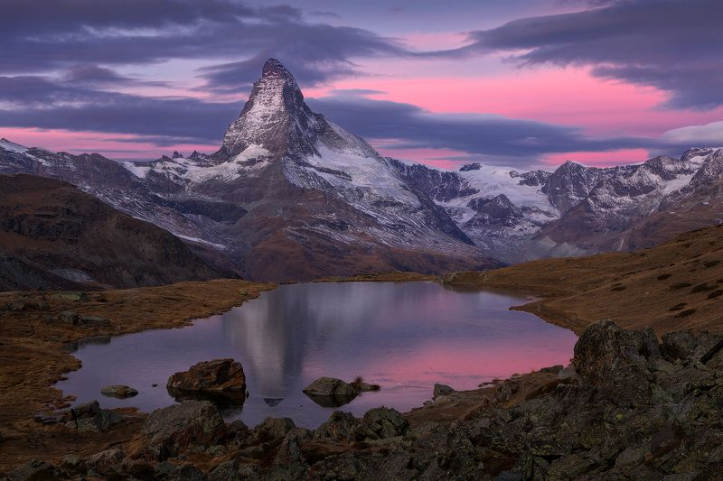 switzerland, matterhorn, stellisee ***photo preview