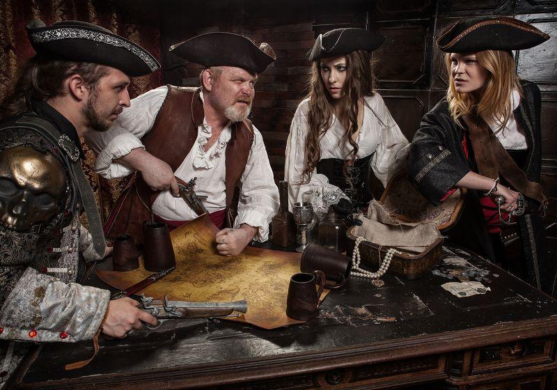 пираты карта оружие делят девушки Пираты! что тут добавить...photo preview