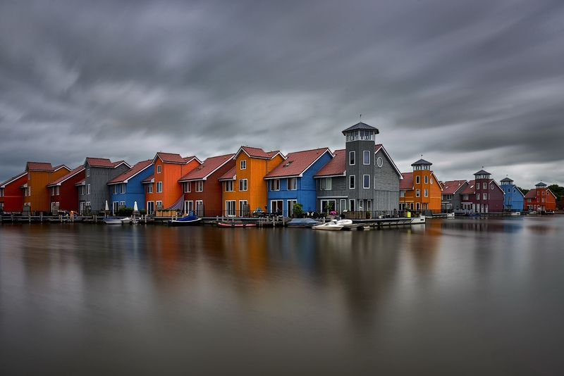 Groningen,  townn ,Netherlands, cloudy day On a cloudy dayphoto preview