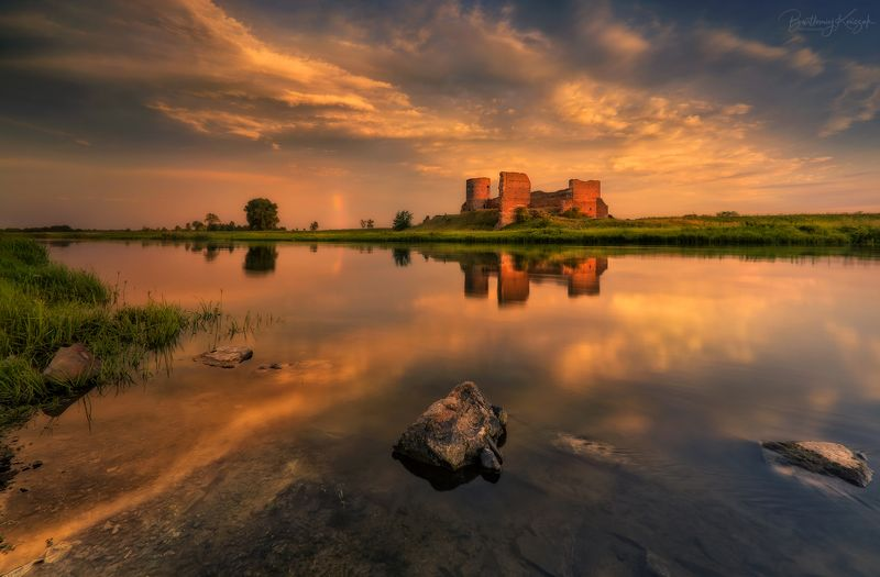 Ruins of the Castle on the Warta Riverphoto preview