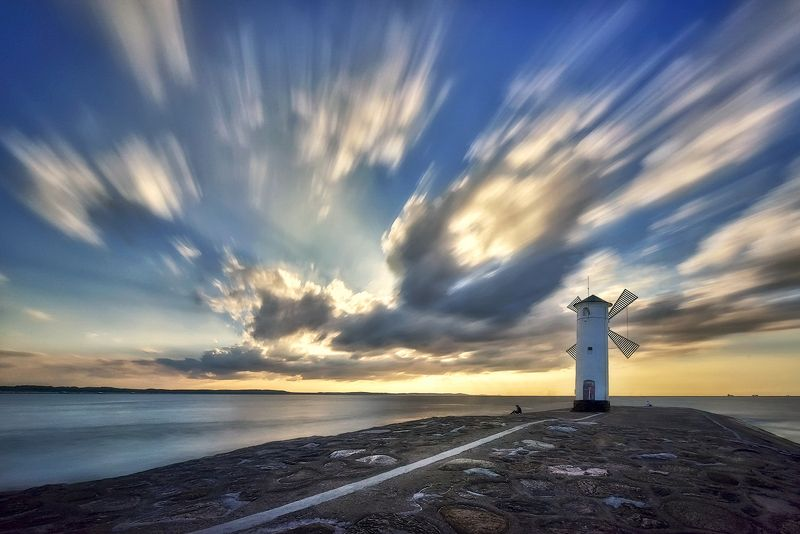 Lighthouse Stawa Mlyny, Swinoujscie, Baltic Sea, Poland Lighthousephoto preview