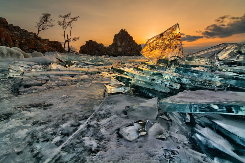 байкал, россия, хужир, шаманка, сибирь, лед Третья вершина/The third vertexphoto preview