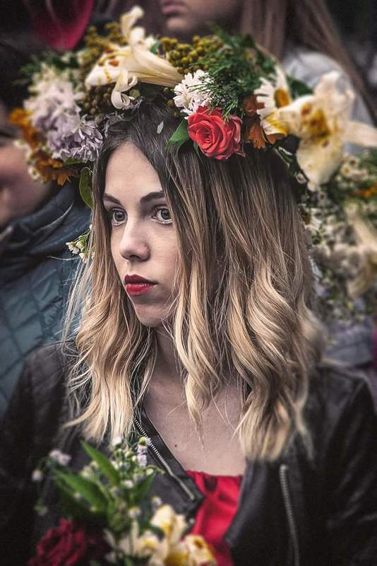 Девушка, девушки, портрет, праздник,Ивана Купала,photo, Купайло в Легедзино #2photo preview