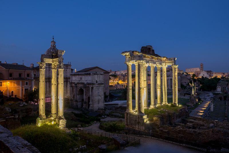 Рим, Италия Вечер на Форумеphoto preview