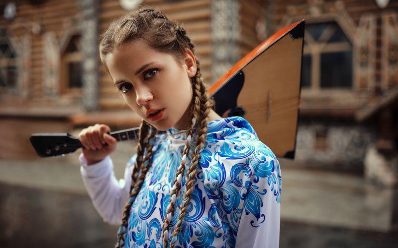 портрет, улица, portrait, street Russian stylephoto preview