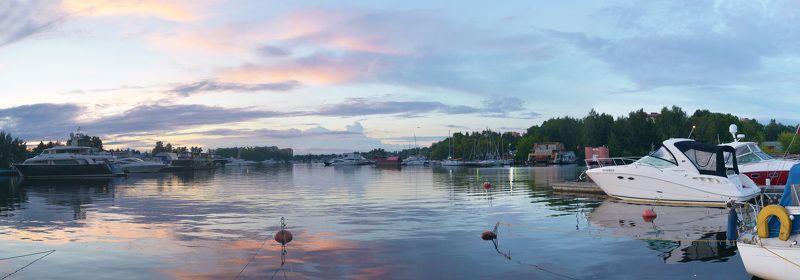 Вечерние краски Хлебниковского затонаphoto preview