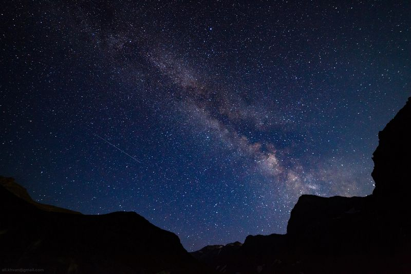 Ночь у озера Семицветноеphoto preview
