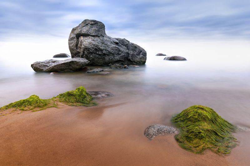 финский залив, морской пейзаж, камни, вода Где-то на другой планетеphoto preview
