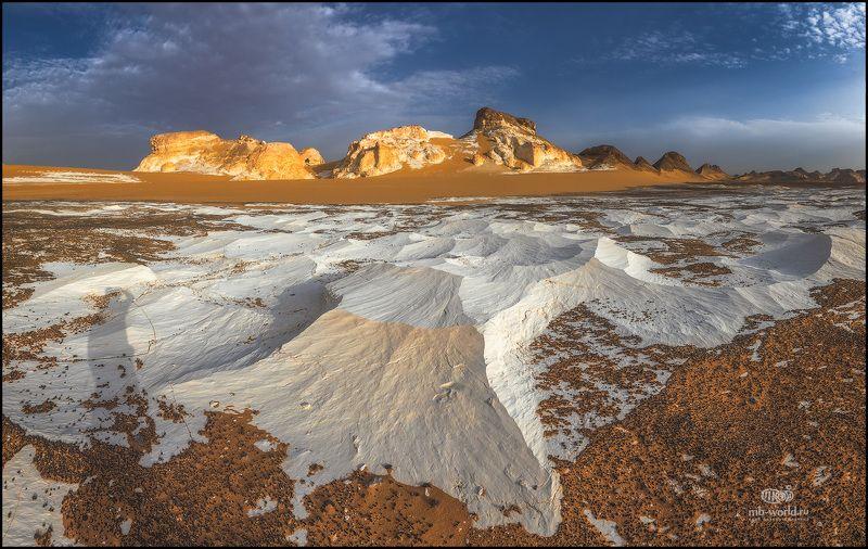 Египет, белая пустыня, рассвет, западная пустыня,  Утро в Белой пустыне...photo preview
