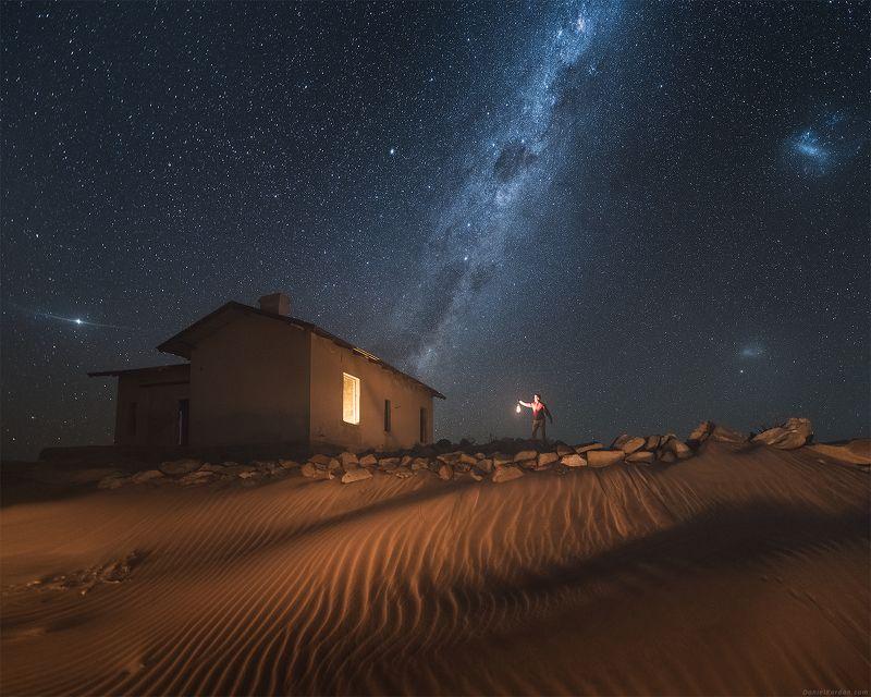 намибия Ночь в пустынеphoto preview