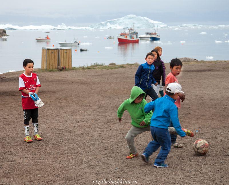 гренландия, айсберги, футбол Гренландский футболphoto preview