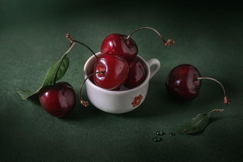 украина, коростышев, натюрморт, черешня, ягода, фрукты, макро, макро красота, ***photo preview