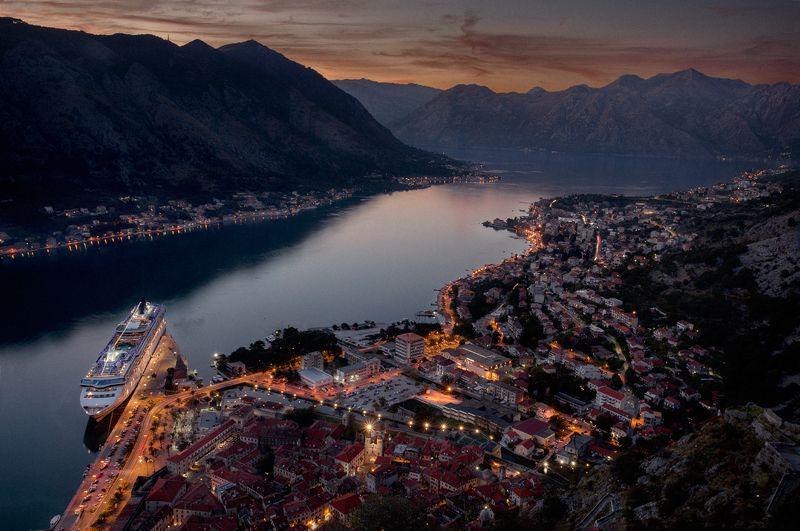 montenegro, bar, nerozya, tivat, kotor, черногория, travel, nature, europe, пераст, котор Классический вид на Которphoto preview