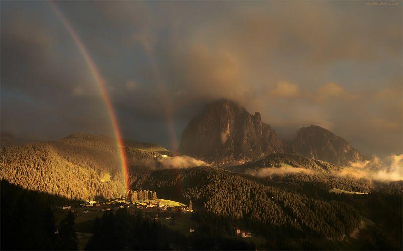 Три Заката Доломитовых Альп ***photo preview