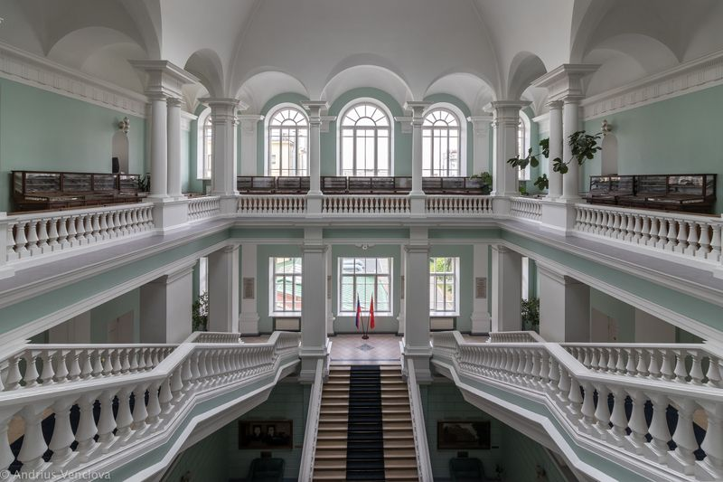 Geology Institute stairwayphoto preview